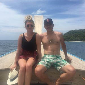 Ben and me in Thailand